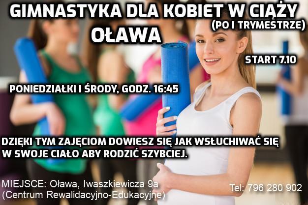 gimnastyka dla kobiet w ciąży Oława
